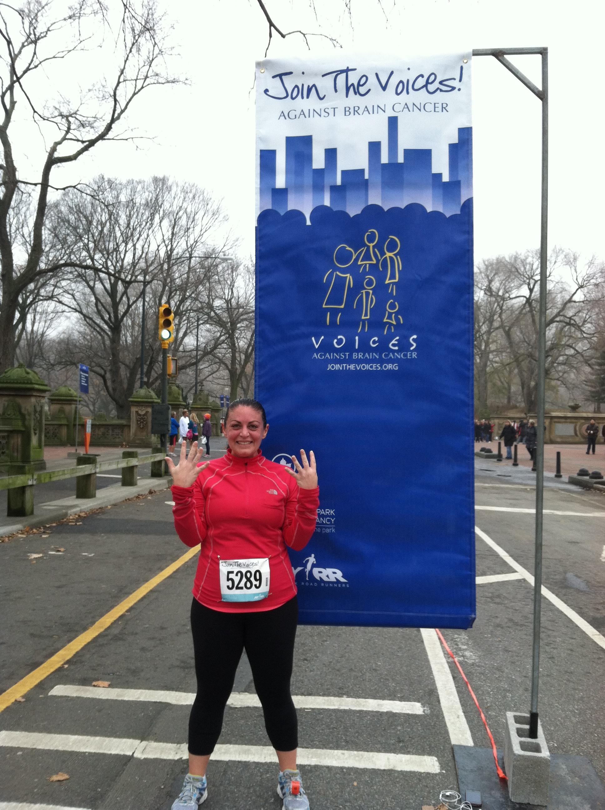 Race #9 for Beth - She's in for NYCM 2013!