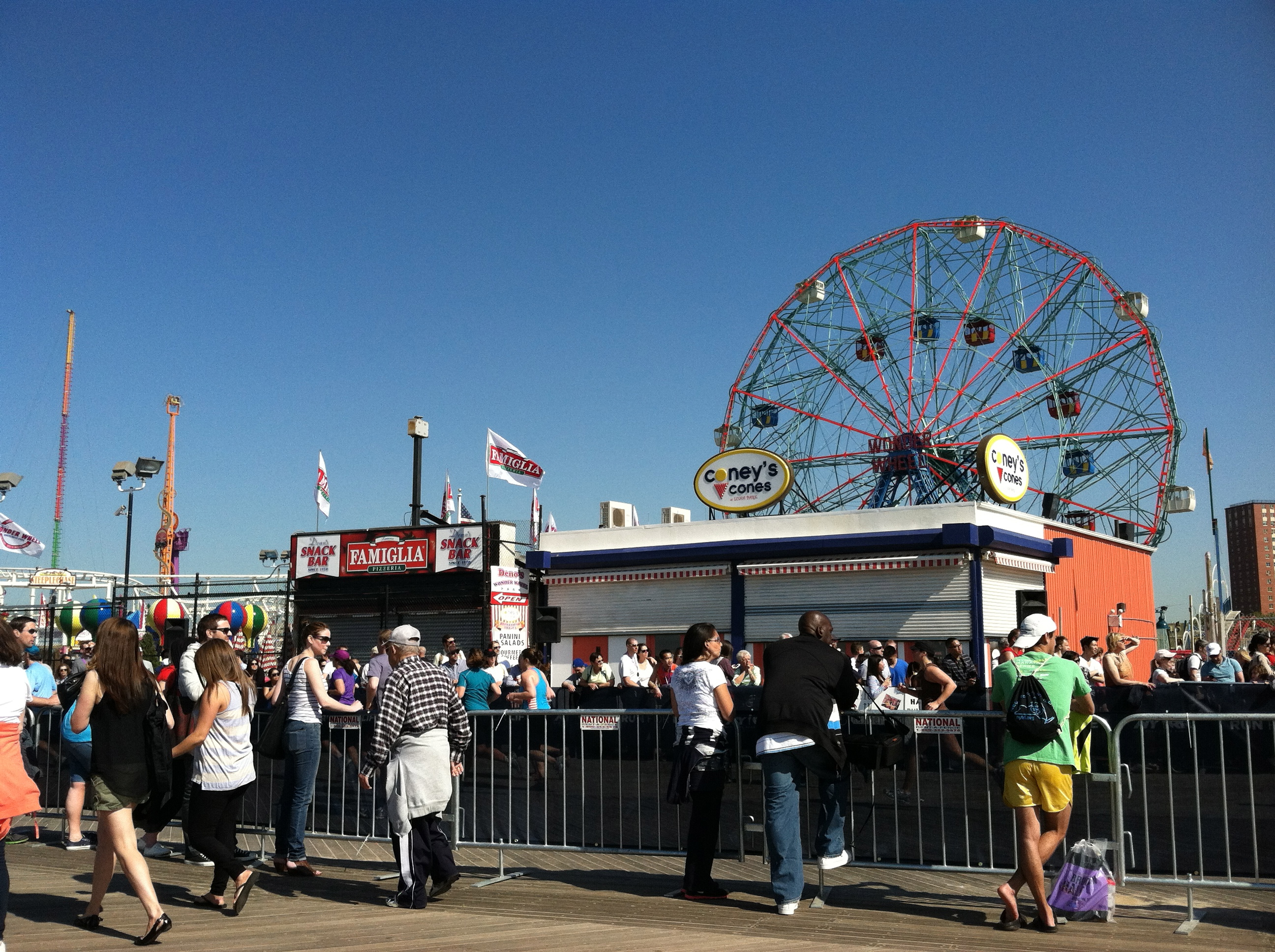 Brooklyn (well, Coney Island)...the site of my half marathon PR!