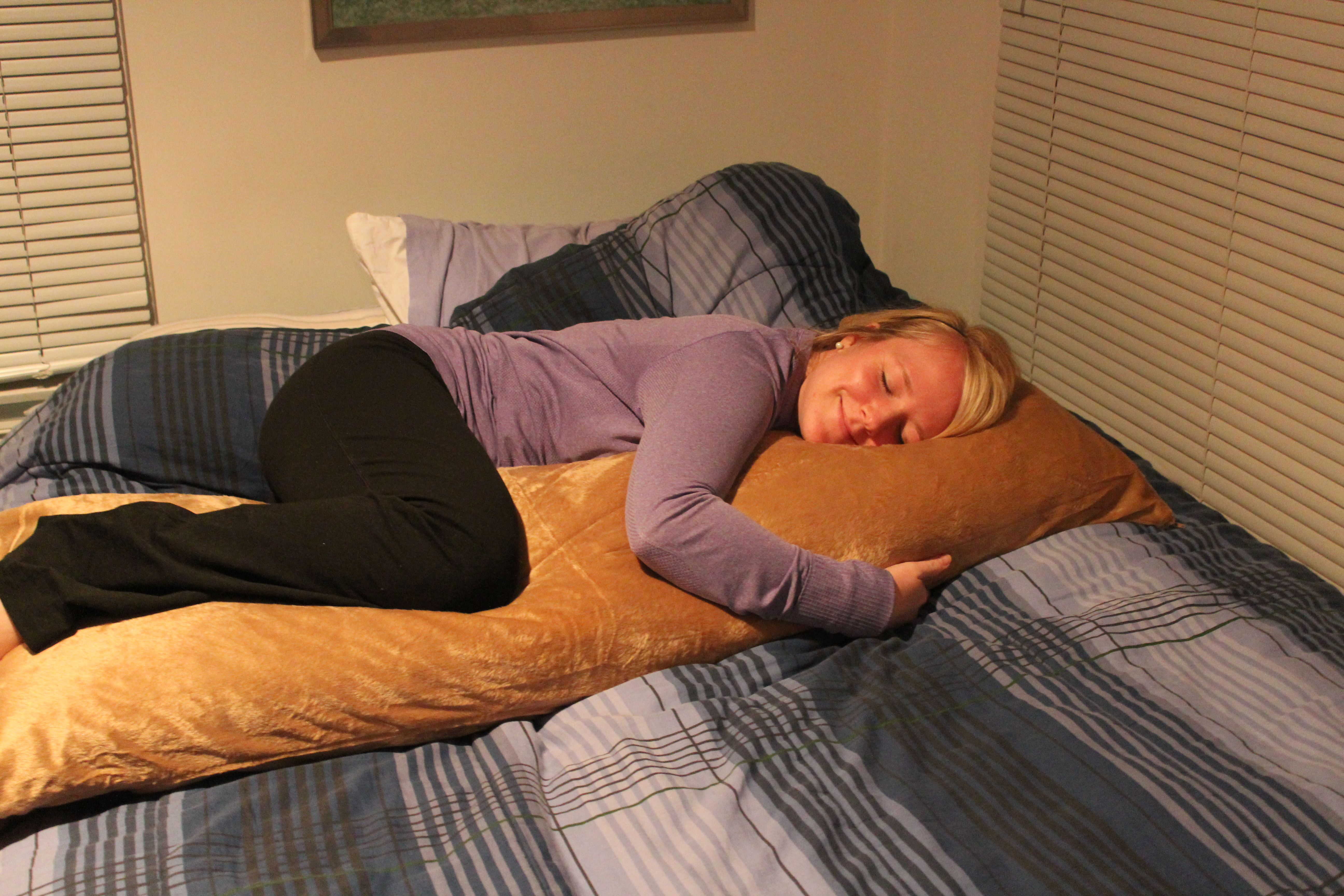 I just really love sleeping.