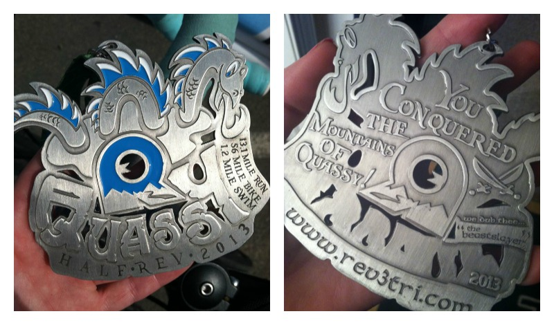 Is this not the coolest medal ever?!