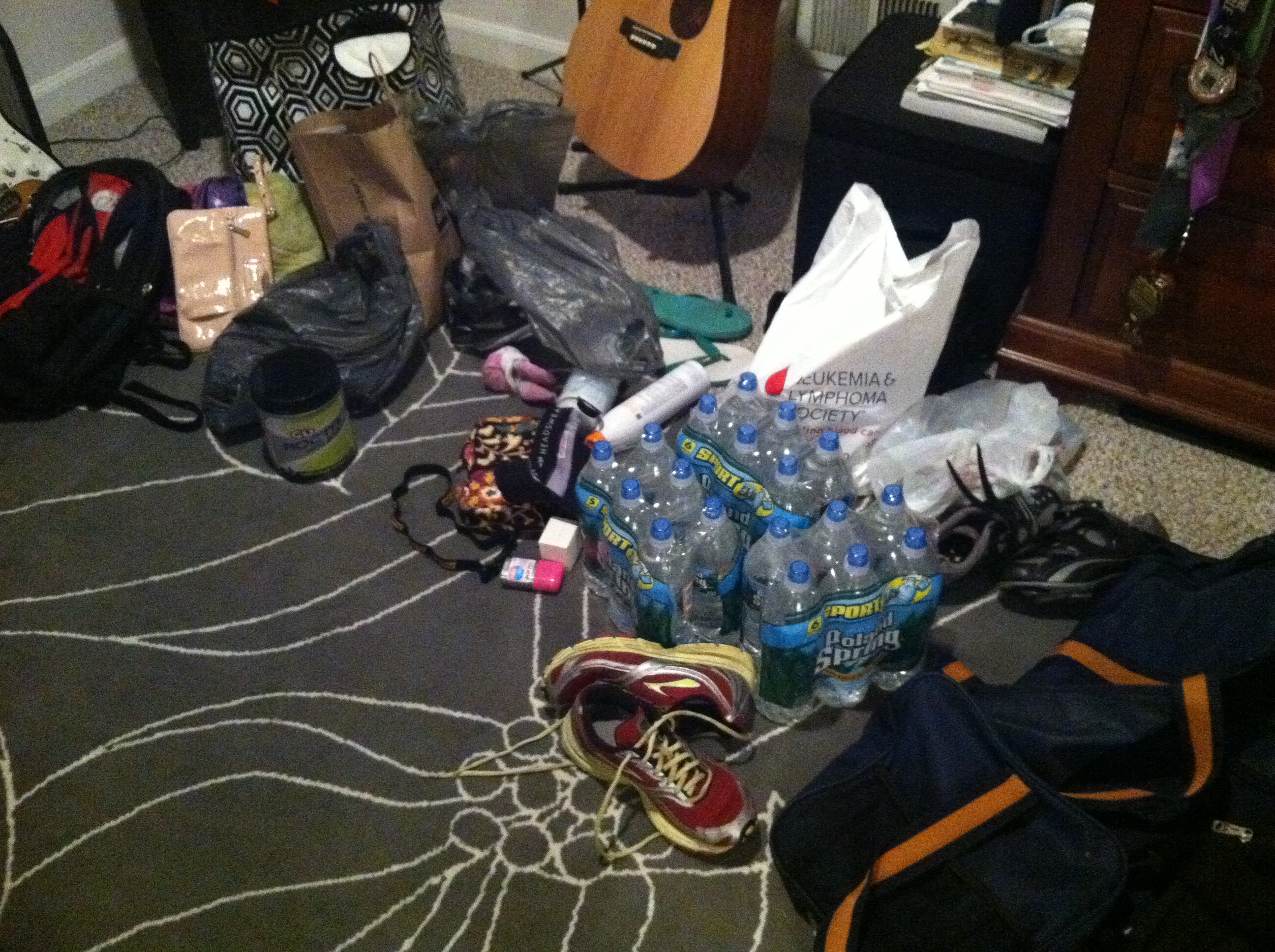 Unfortunately my room still looks like this. Gotta run!
