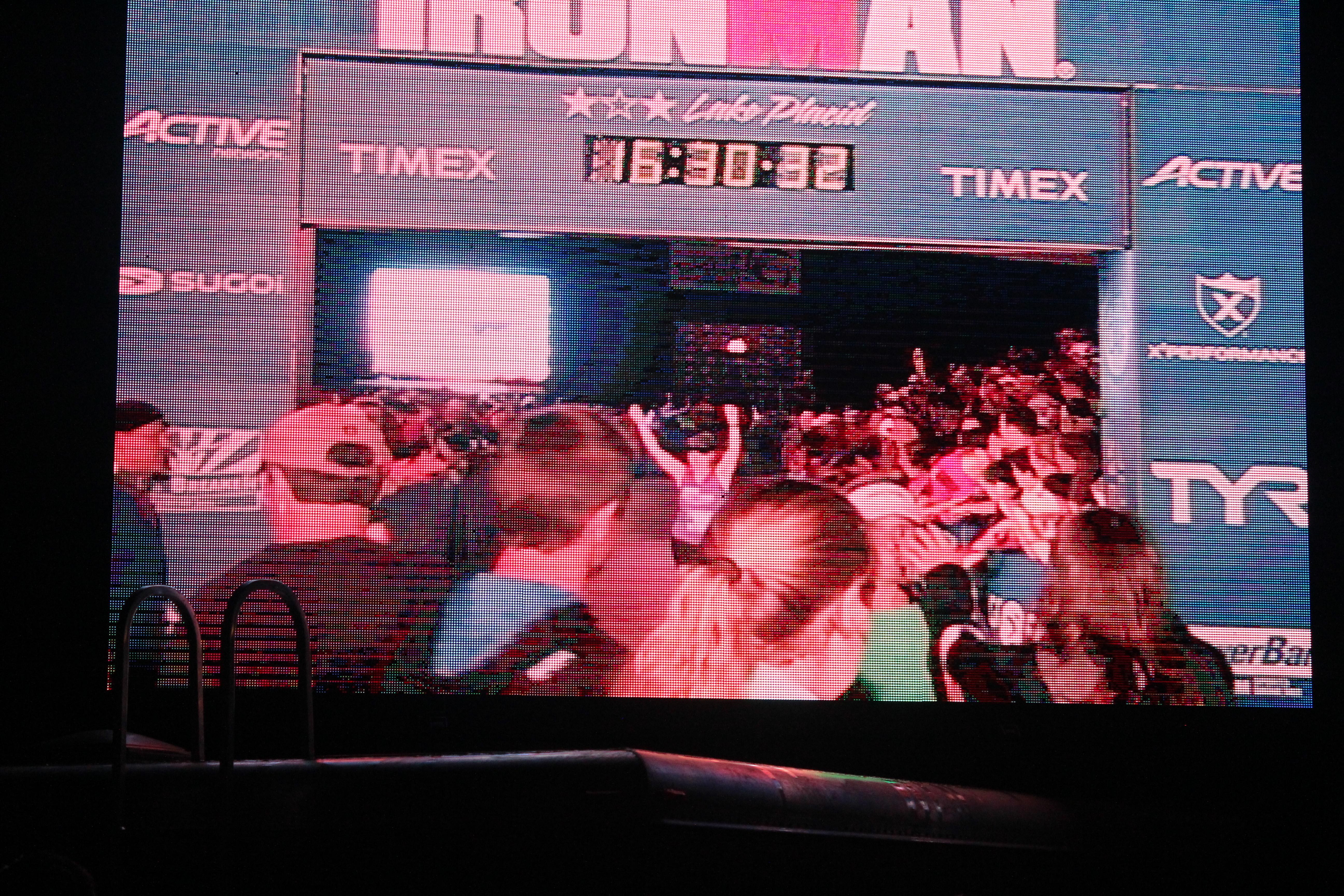 On the big screen. No big deal.