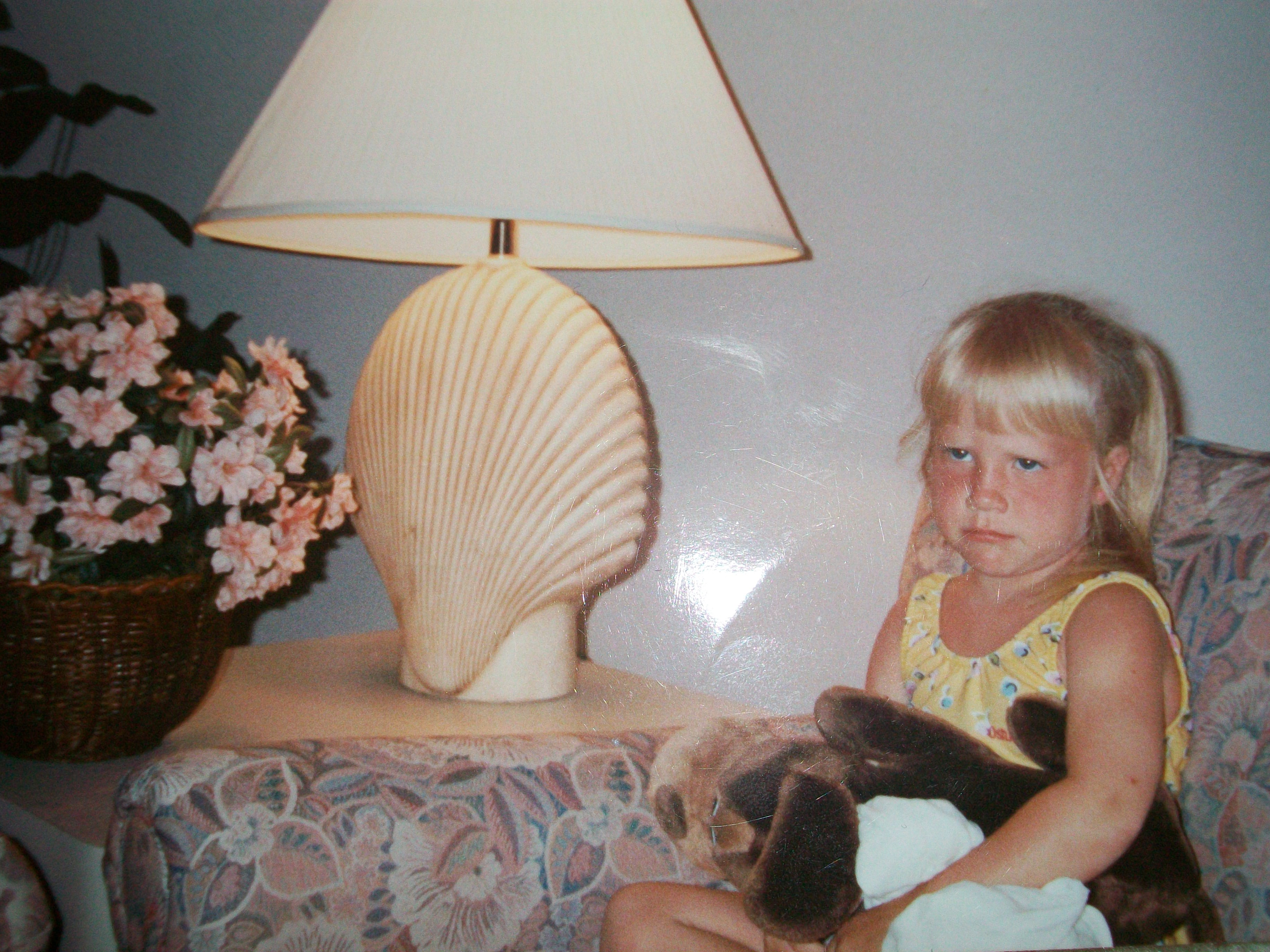 The crabbiness started at a young age...